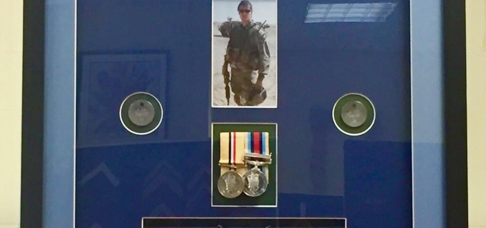 SAS Beret & Medals