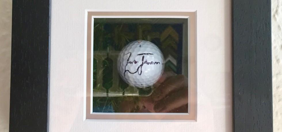 Zach Johnson Golf Ball