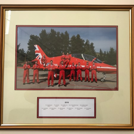 Red Arrows 2016 Team photograph