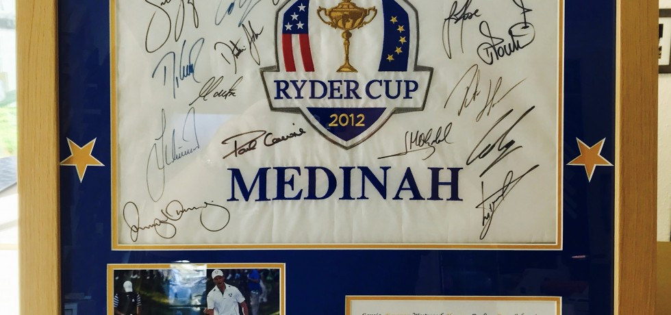 Ryder Cup pin flag