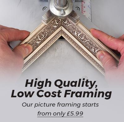 Picture Framing in Newark, Nottingham, Fine Art Trade Guild Commended